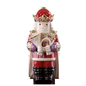 Nutcracker with Horn Figurine