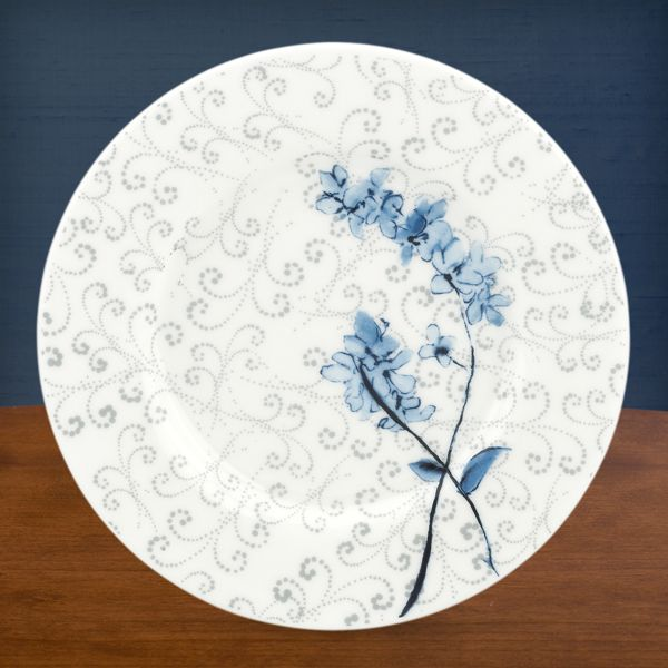 Simply Fine Lenox® Watercolor Indigo Blue Party Plate