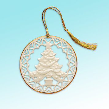 Pierced Tree Ornament by Lenox