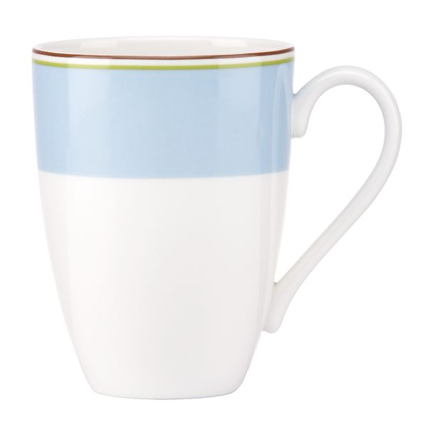 kate spade new york Market Street Blue Mug by Lenox
