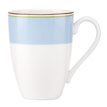 LENOX Dining: Casual Dinnerware - kate spade new york Market Street Blue Mug