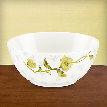 LENOX Overstock  - Simply Fine Lenox® Watercolor Citrus Bowl