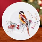 Winter Song Party Plate
