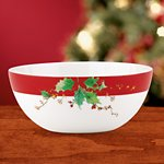 Winter Song Small Serving Bowl