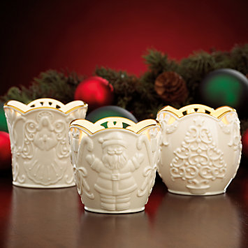 Merry Lights 3-piece Votive Holder Set by Lenox