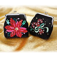Set of 2 Holiday Coin Purses by Lenox
