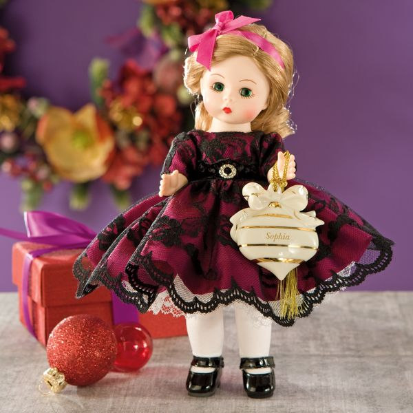 Madame Alexander® Christmas Doll by Lenox