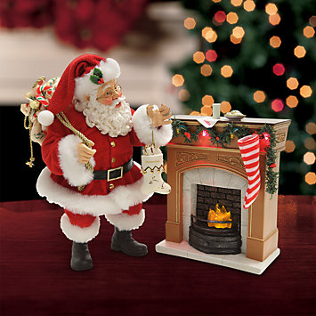 LENOX Figurines: Internet Exclusive - Possible Dreams® Santa's Arrival