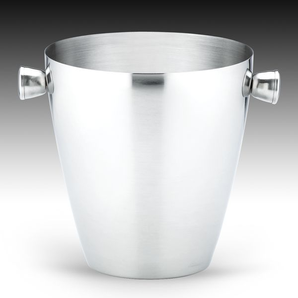 Stainless Ice Bucket by Gorham®
