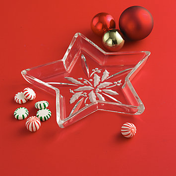 Holiday Star Candy Dish by Lenox