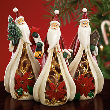 Santa's Celebration Figurine by Lenox