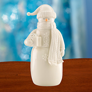Snow Fantasy Snowman Figurine by Lenox