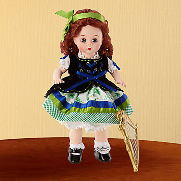 LENOX Figurines: Dolls - Madame Alexander® Celtic Harp Doll