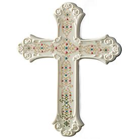 China Jewels Cross Figurine