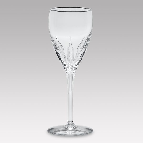 Firelight® Platinum Crystal Wine Glass