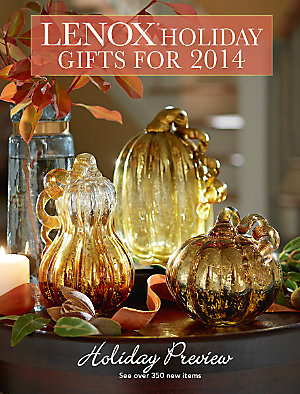 Lenox Holiday Gifts for 2014 Catalog