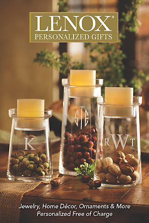 Lenox Personalized Gifts Catalog