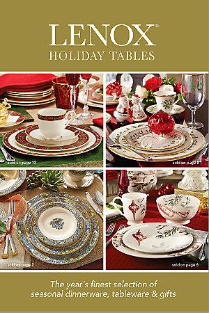 Lenox Holiday Tables Catalog