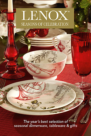 Lenox Seasonal Dinnerware Catalog