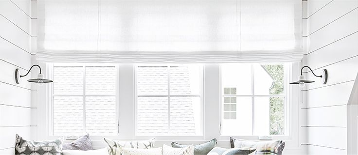 Designer Balloon Shades & Tulip Roman Shades | Loom Decor