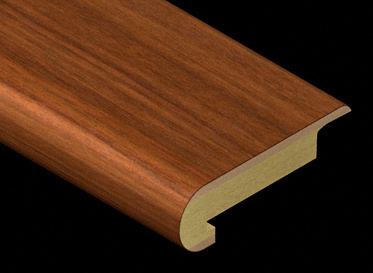 Santos Mahogany Light Laminate Stair Nose