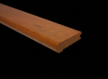 "3/4"" x 3 1/4"" x 6.5LFT Brazilian Koa Stair Nose"