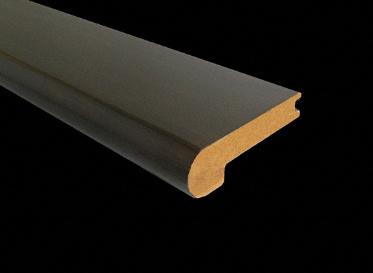 5/8 X 3-1/4 X 6 LFT Sambuca Bamboo Stair Nose