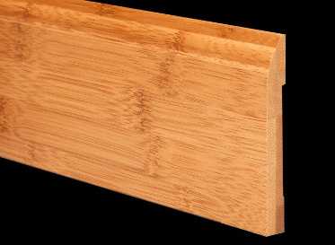 "1/2"" x 3-1/4"" 6LFT Carbonized Bamboo Baseboard"