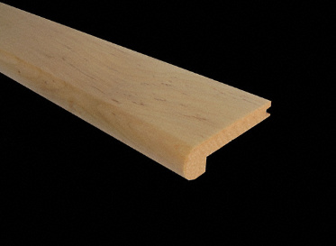 "3/8"" x 2 3/4"" x 6.5 LFT Maple Stair Nose"