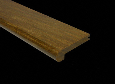 3/8 x 2-3/4 x 6.5 LFT Brazilian Walnut Stair Nose