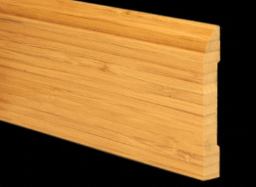 Bamboo Vertical Carbonized Baseboard