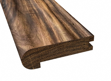 Prefinished Tobacco Road Walnut Stair Nose