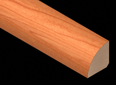 American cherry laminate quarter round lumber for Crystal springs hickory laminate