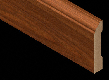 Santos Mahogany Light Laminate Baseboard