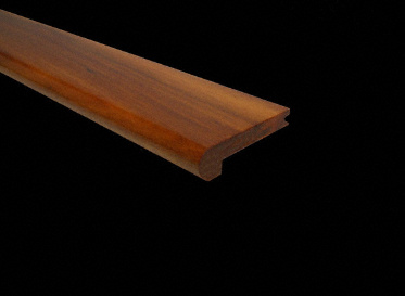 "3/8"" x 2 3/4"" x 6.5 LFT Brazilian Koa Stair Nose"