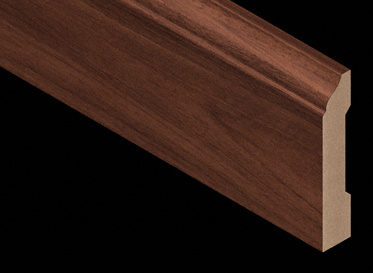 Golden Teak Laminate Baseboard