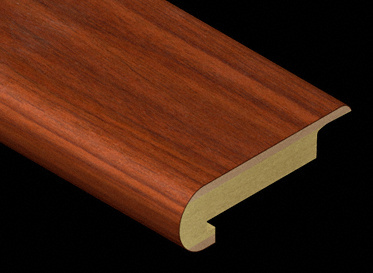 African Mahogany Laminate Stair Nose