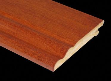 Prefinished Brazilian Cherry Veneer Baseboard