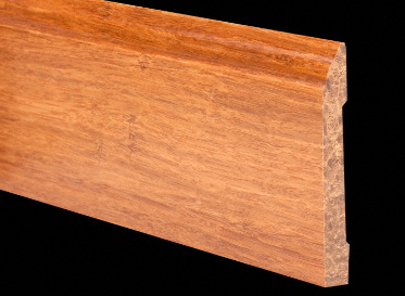 6LFT Carbonized Stranded Bamboo Baseboard