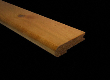 "3/4"" x 3 1/4"" x 6.5 LFT American Cherry Stair Nose"