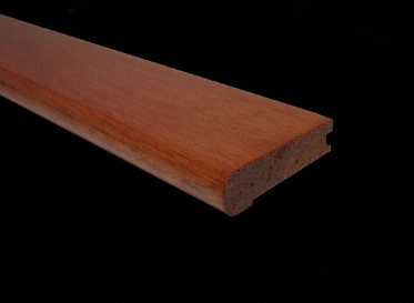 Prefinished Bolivian Rosewood Stair Nose