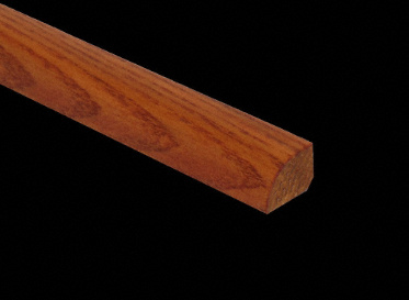 Prefinished Butter Rum Oak Shoe Molding