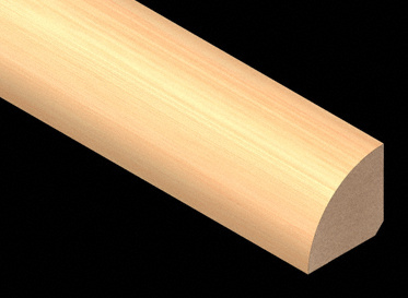 Prefinished Horizontal Natural Bamboo QuarterRound
