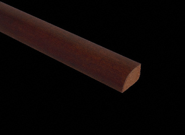 Prefinished Patagonian Rosewood Shoe Molding