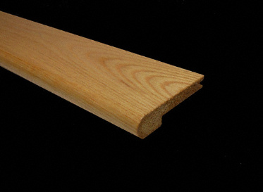 Prefinished Natural Red Oak Stair Nose