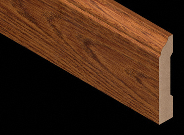 Heritage Long Length Oak Laminate Baseboard-7.5lft