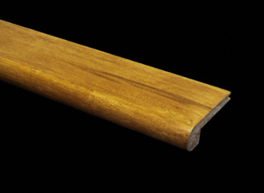 Prefinished Strand Carbonized Bamboo Stair Nose