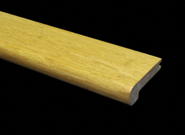 Prefinished Strand Natural Bamboo Stair Nose