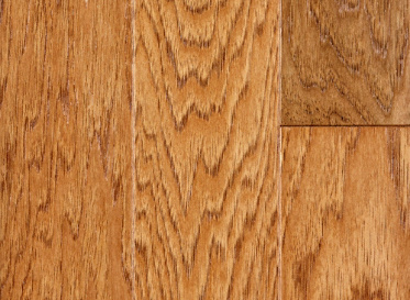 "Sch�n Quick Clic Engineered - 3/8""x4 1/4"" Hickory Caraya spp. Stained Finish Engineered"