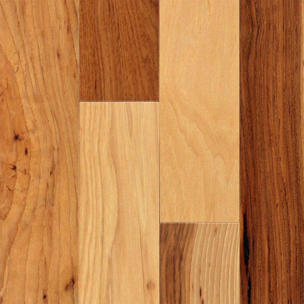 1 2 x 3 natural hickory engineered bellawood for Bellawood bamboo